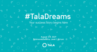 Get a discount on your first loan at our #TalaDreams pop-up!
